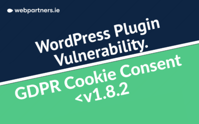 Major Security Concern – WordPress GDPR Cookie Plugin