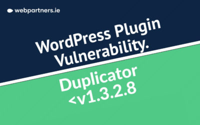 Critical Security Update – Duplicator Plugin